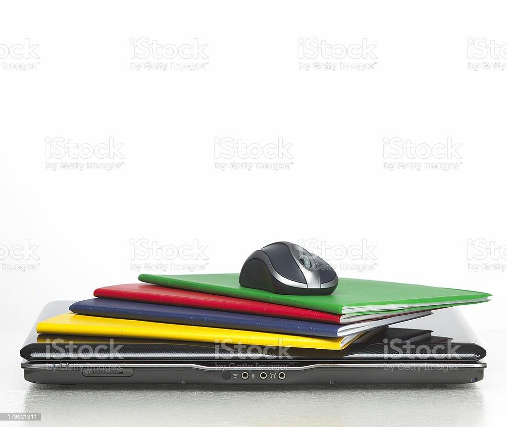 Laptop und notebooks Lizenzfreies stock-foto