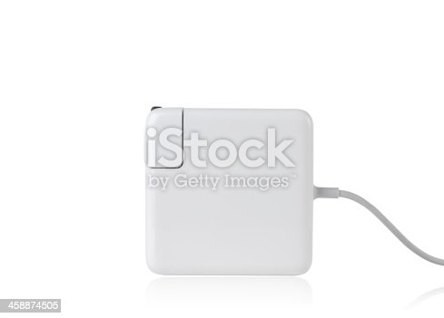 istock Laptop battery charger 458874505