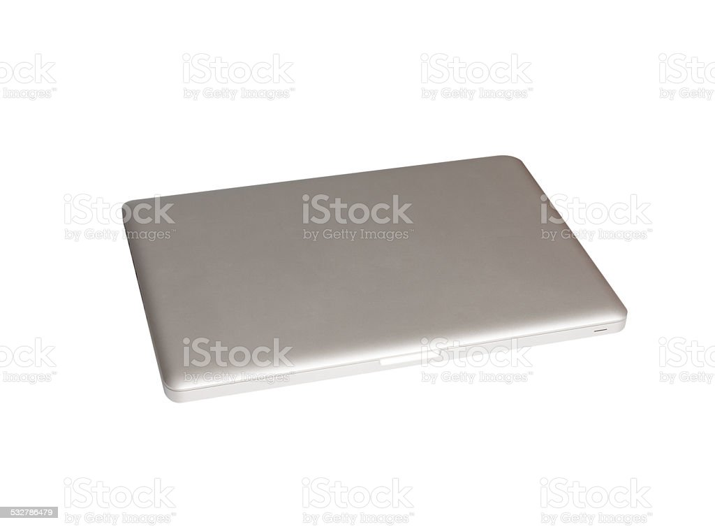 laptop clean background with space for copy stock photo