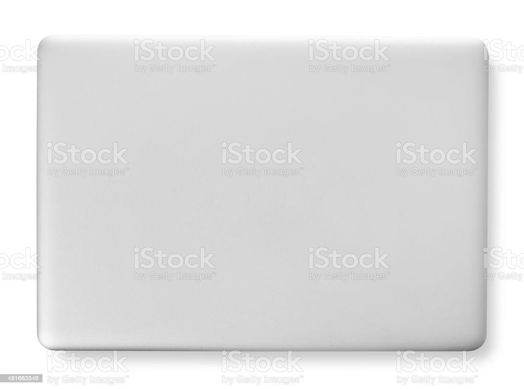 Laptop closed stock photo