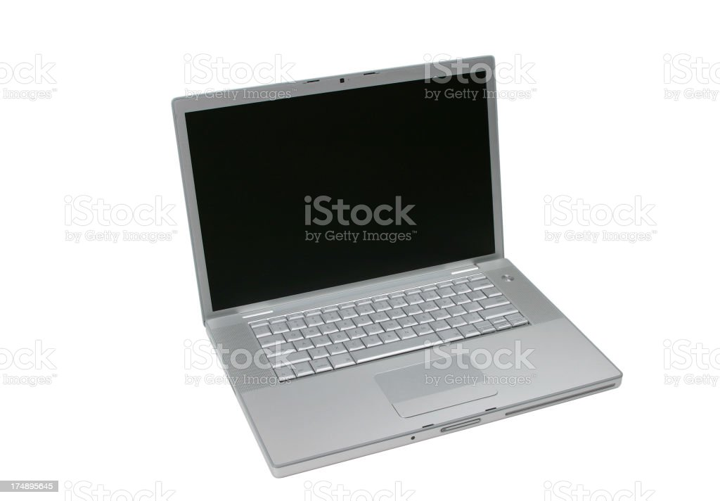 Laptop Computer Series (CLIPPING PATH) royalty-free stock photo