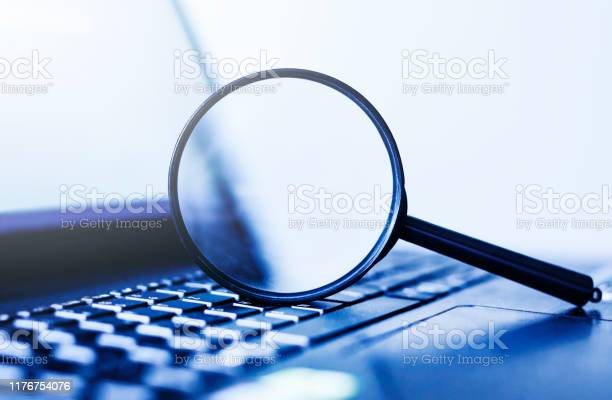 Laptop computer with magnifying glass concept of search picture id1176754076?b=1&k=6&m=1176754076&s=612x612&h=nnlqz thznwrum57r8c6osfywvdi7f3isezl5xytgjc=