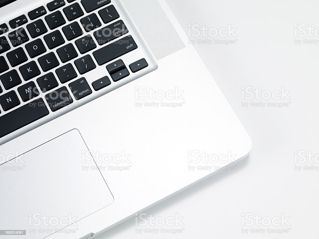 Laptop Detail stock photo