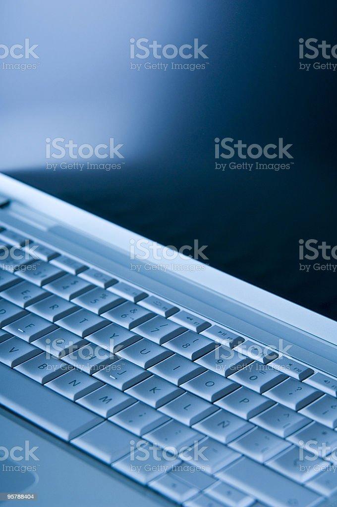 Laptop detail royalty-free stock photo