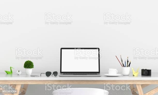 Laptop display for mockup on table 3d rendering picture id932363054?b=1&k=6&m=932363054&s=612x612&h=1 7txtshhmfnxxnpiqcu1jpcxj2hrgforbkdabucnvk=