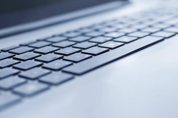 Laptop-Tastatur, Nahaufnahme – Foto
