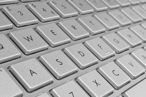 Laptop Keyboard Stock Photo - Download Image Now
