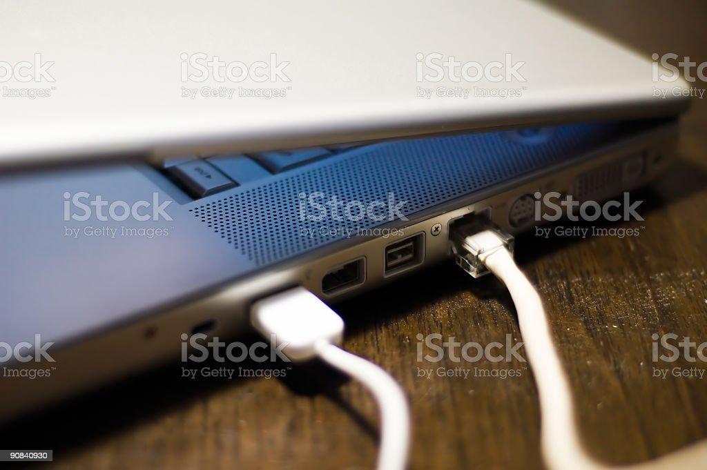 Laptop Keyboard stock photo