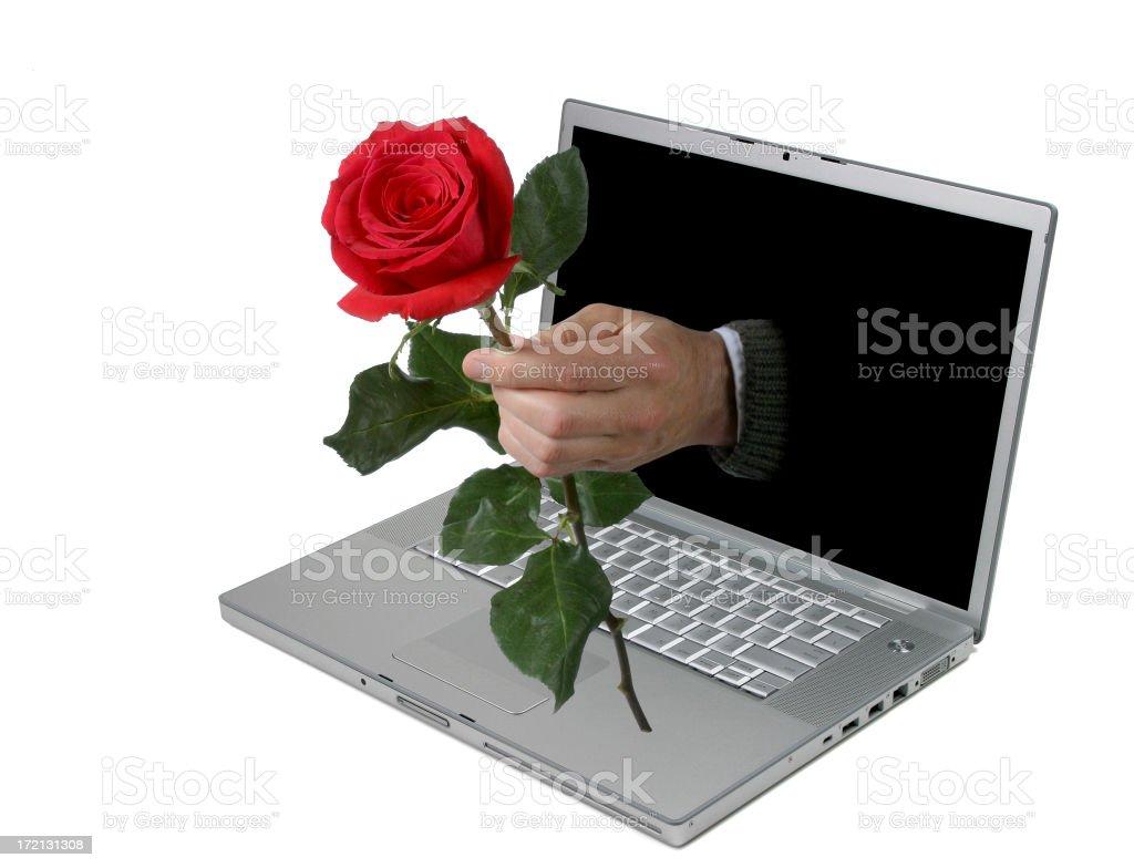 Laptop Love Series stock photo
