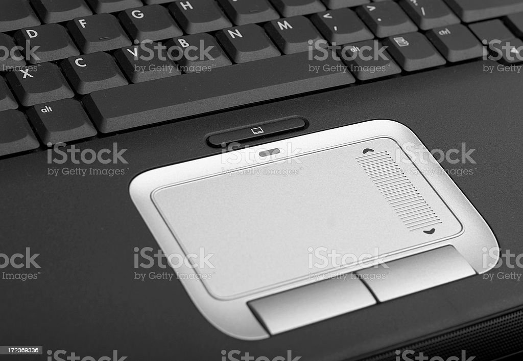Laptop Mouse Touch Pad royalty-free stock photo