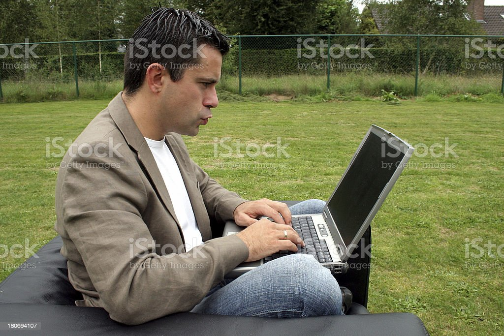 laptop stock photo