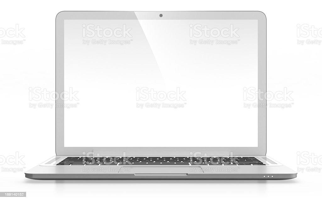 Laptop stock photo
