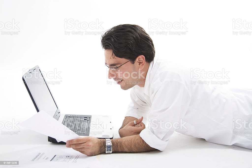 Laptop Serie royalty-free stock photo