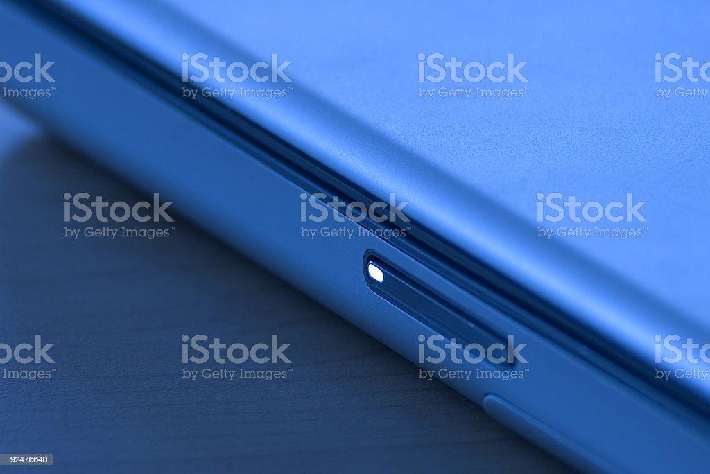 Laptop Sleeping royalty-free stock photo