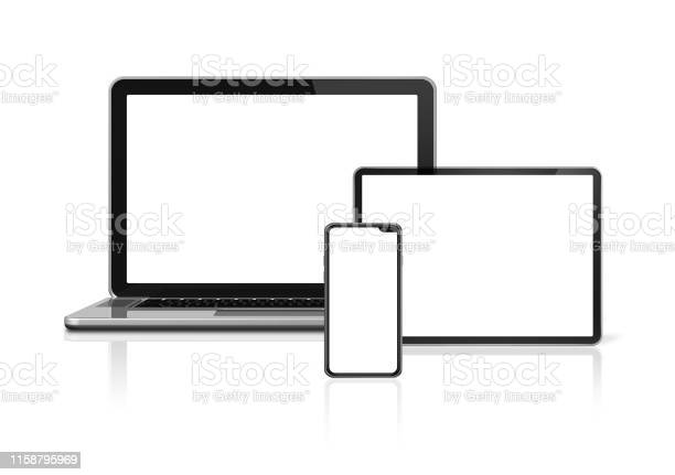 Laptop tablet and phone set mockup isolated on white 3d render picture id1158795969?b=1&k=6&m=1158795969&s=612x612&h=hfclasgz9nvuthtgdho7xhpaf4qnrvct3udhsk4w580=