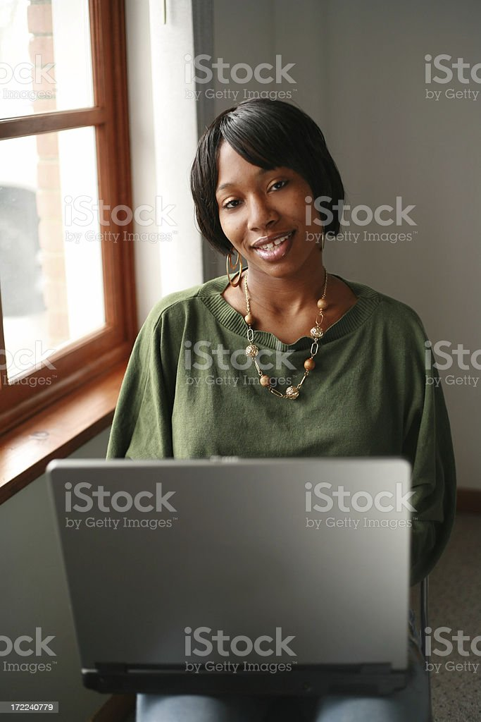 Laptop Time royalty-free stock photo