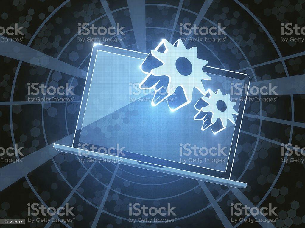 Laptop Upgrade royalty-free stock photo