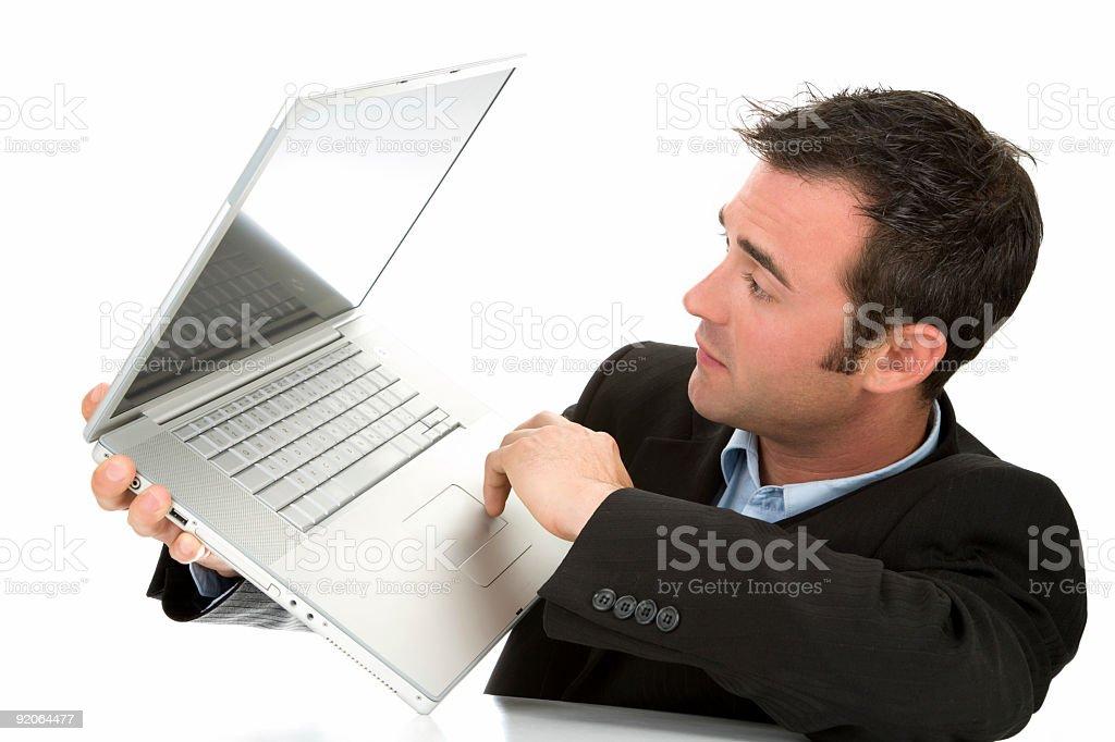 Laptop Wonders stock photo