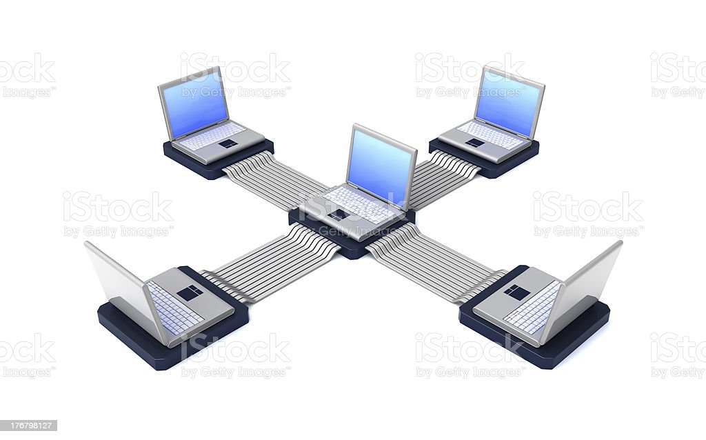 laptops royalty-free stock photo
