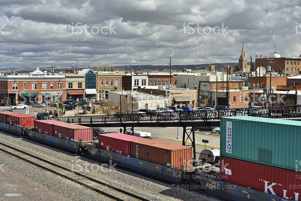 Laramie, Wyoming stock photo