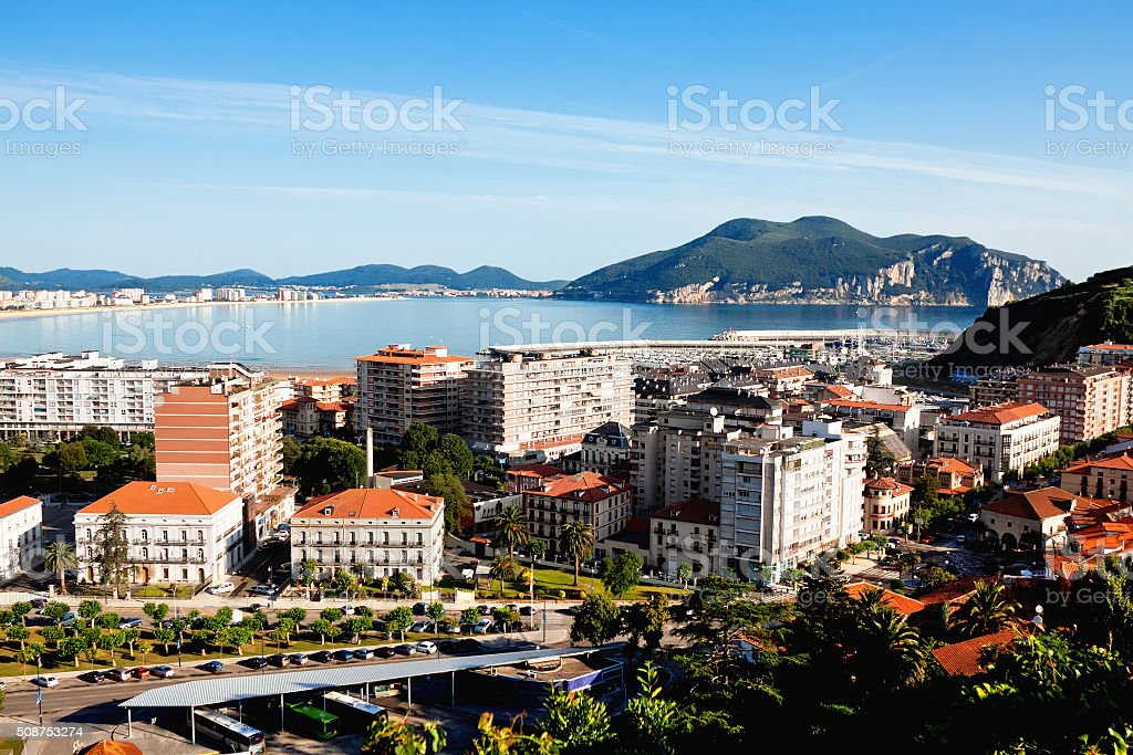 Laredo. Cantabria. Spain. stock photo