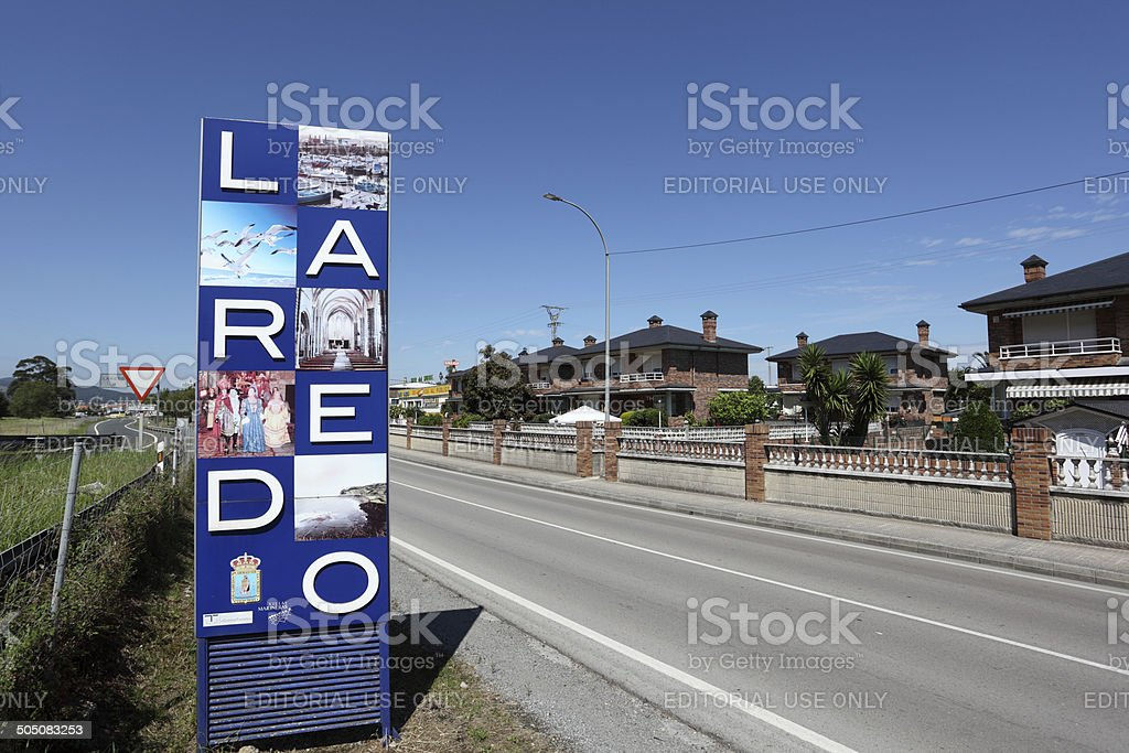 Laredo, Spain stock photo