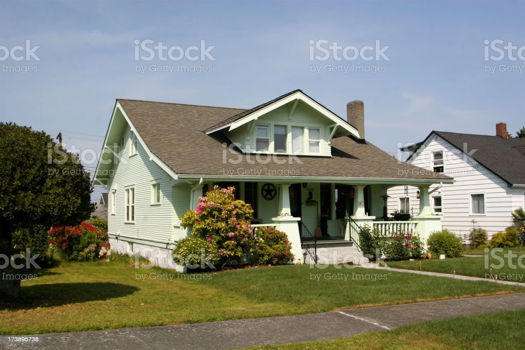Large 1940s Home royalty-free stock photo