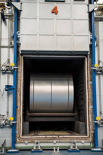 Grand en aluminium acier accessible en fourneau - Photo