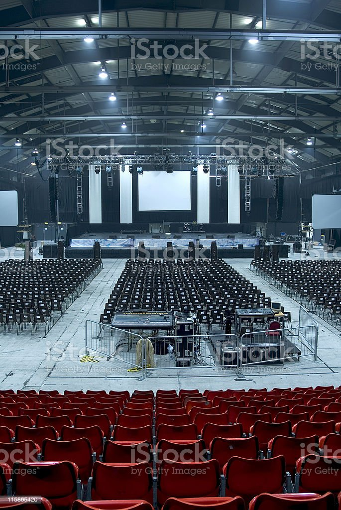 Large Auditorium Hall 02 royalty-free stock photo