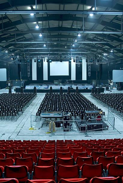 großes auditorium hall 02 - veranstaltungsraum stock-fotos und bilder