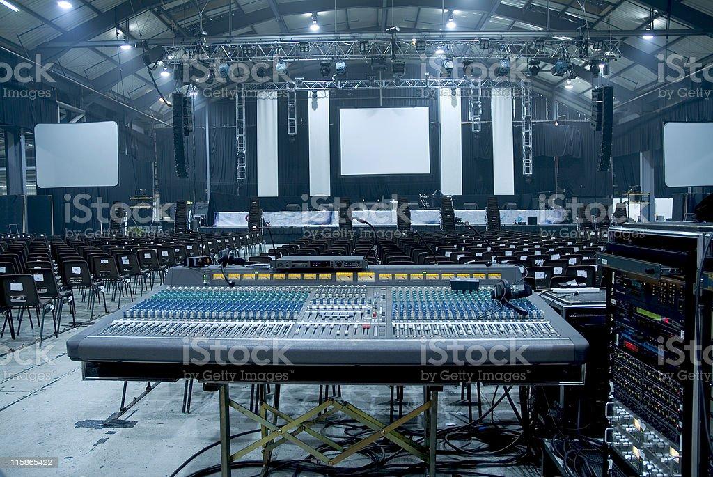 Large Auditorium Hall royalty-free stock photo