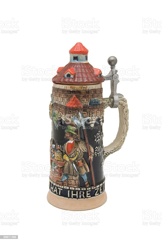 Large Beer Stein royalty-free stock photo
