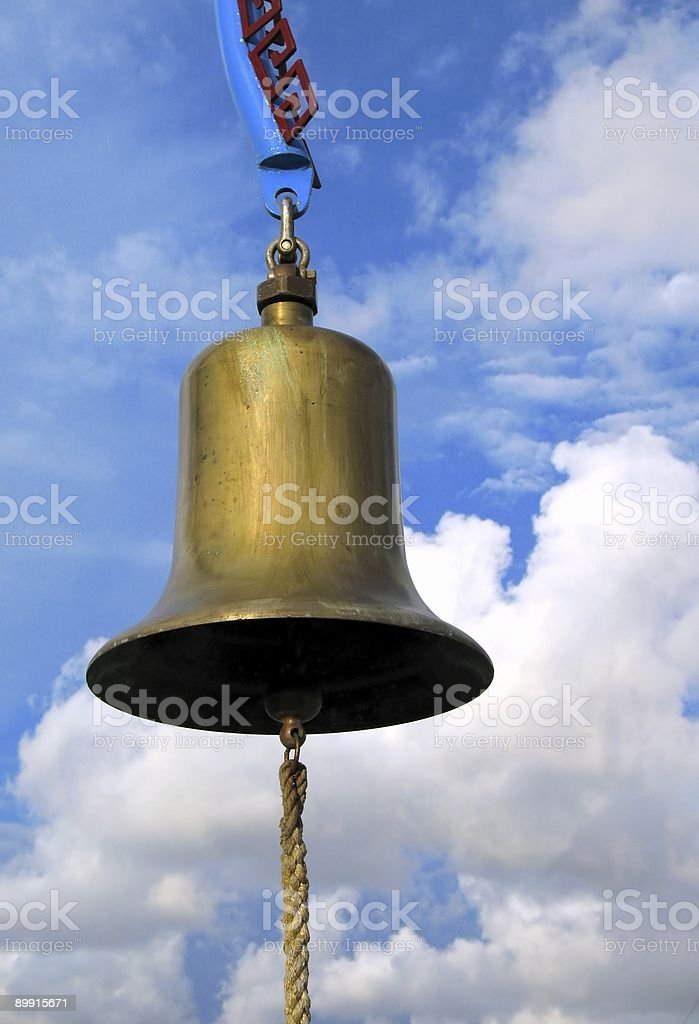 Large Bell stock photo