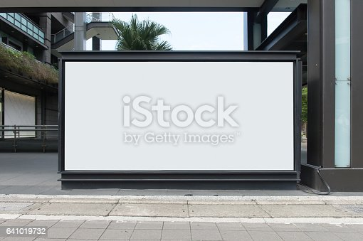istock Large Billboard in the City 641019732