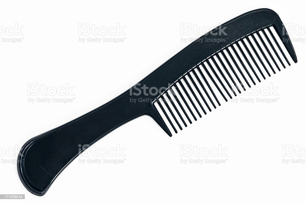 Large Black Comb stock photo
