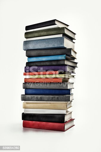 istock Large Book Stack 539654280