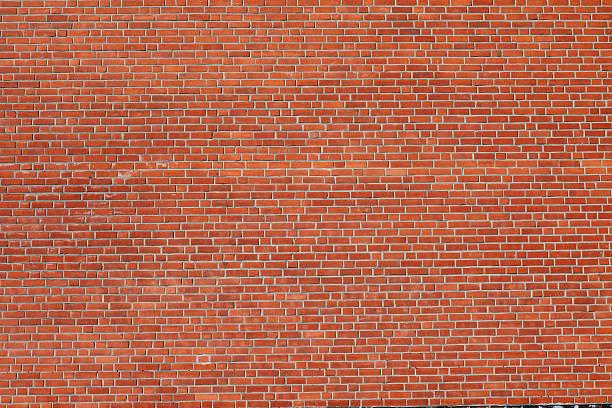 Large Brick Wall stock photo