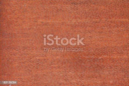 istock Large Brick Wall 183139284