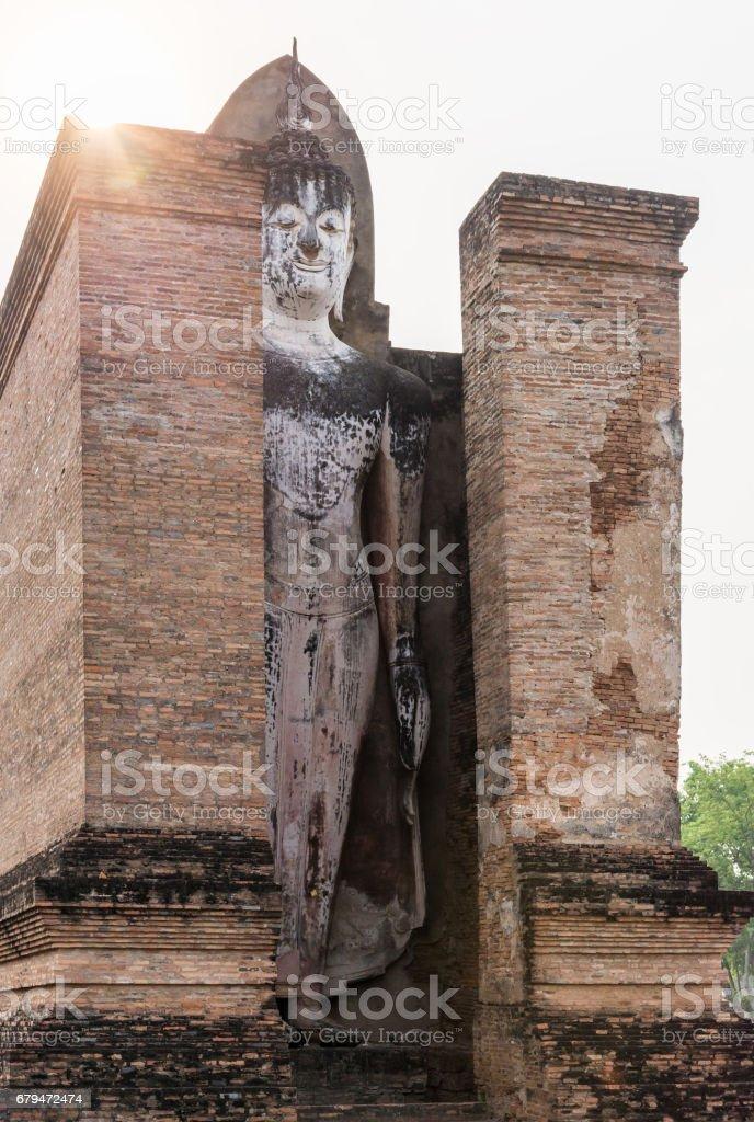 Large Buddha standing. 免版稅 stock photo