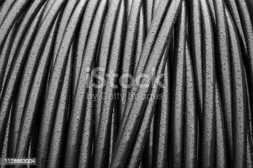 Large cable drum - telecommunications
