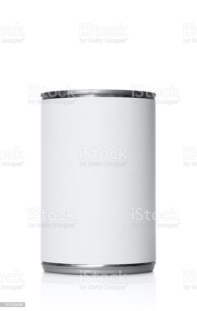 Large can royalty-free stock photo