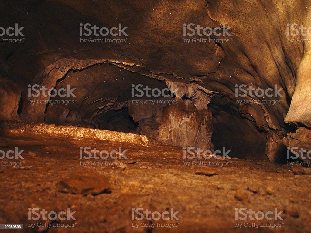 Large Cavern royalty-free stock photo