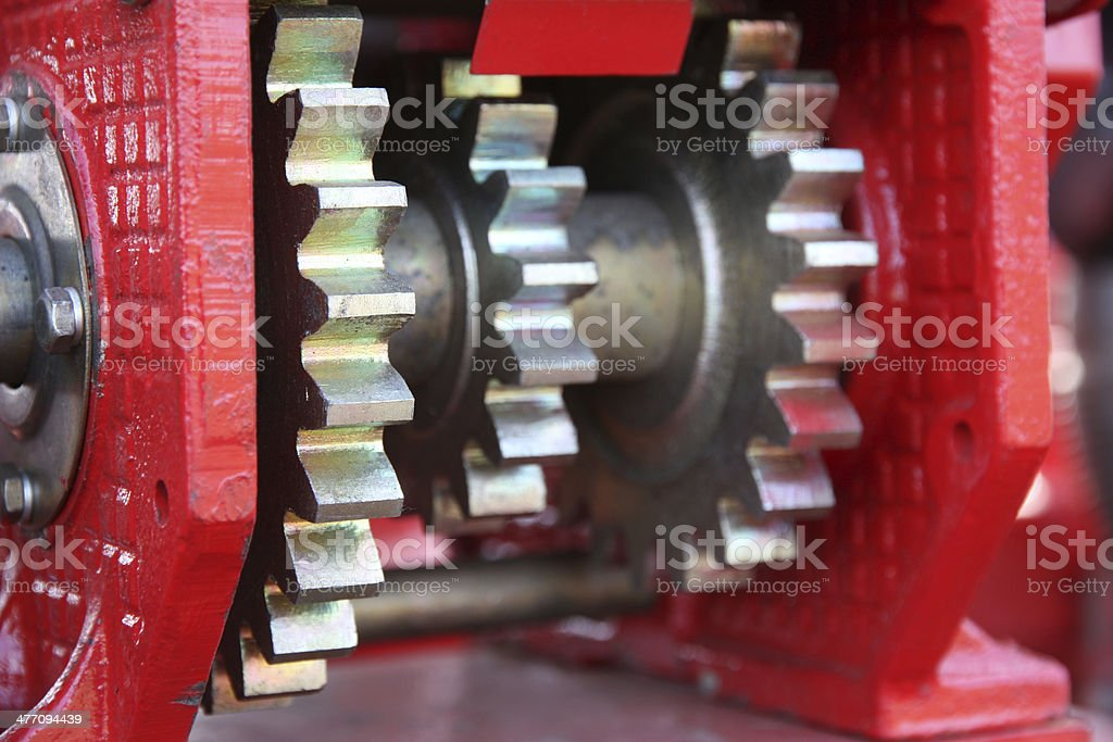large chain drive royalty-free stock photo