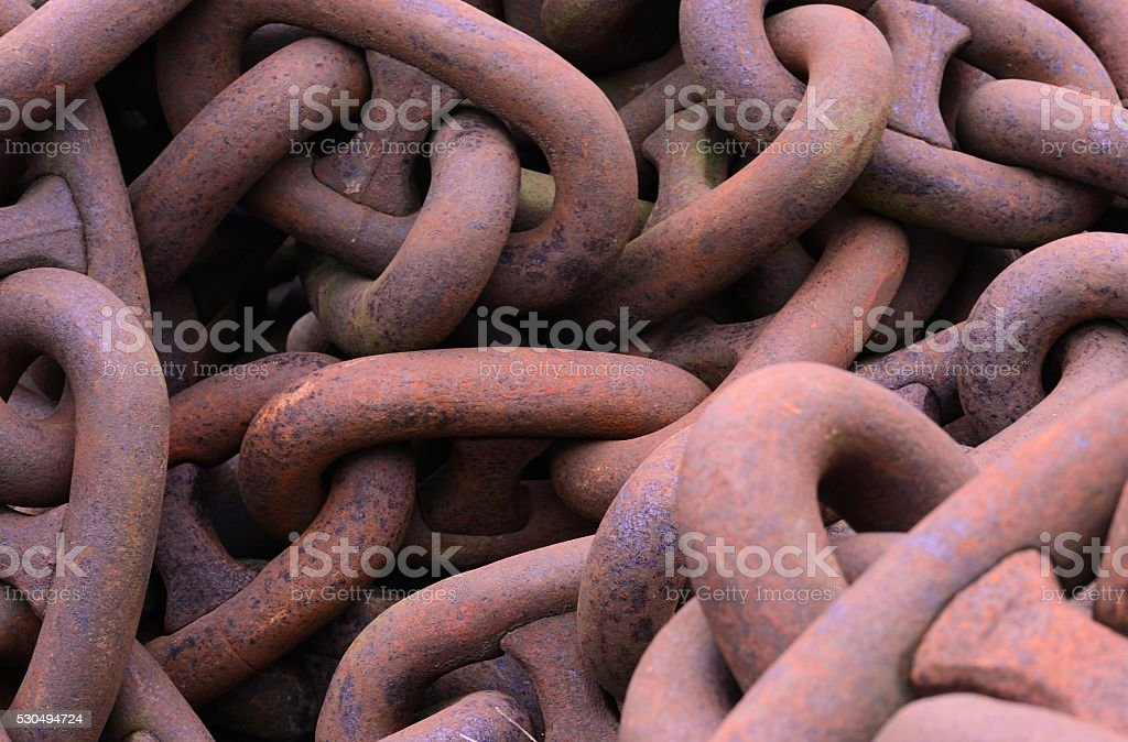 Large Chains stock photo