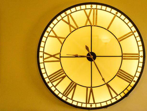 Large Clock - foto stock