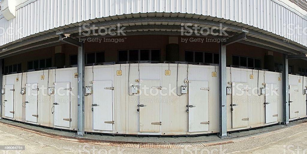 Large Cold Storage Facility stock photo