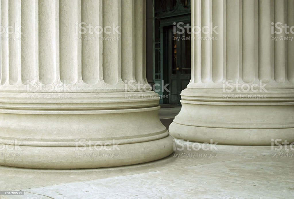 Large Columns royalty-free stock photo
