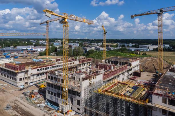 Große Bau Website Gewerbebau – Foto