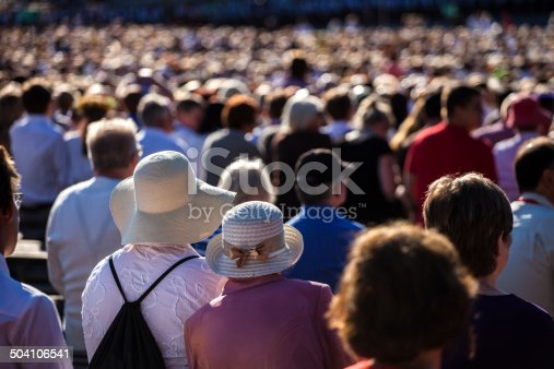 istock Large crowd of people 504106541