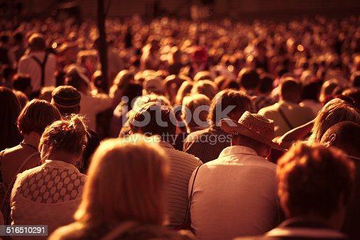 istock Large crowd of people 516510291